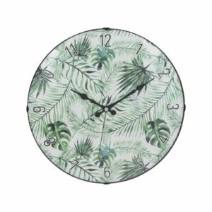 Green Leaf Clock